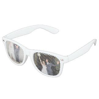 Sarah- u. Seanshochzeits-Party-Schatten Retro Sonnenbrillen