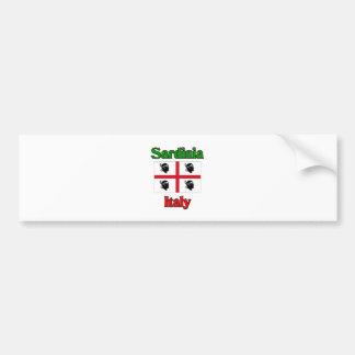 Sardinien Italien Autoaufkleber