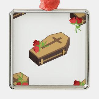 Sarg emojis silbernes ornament