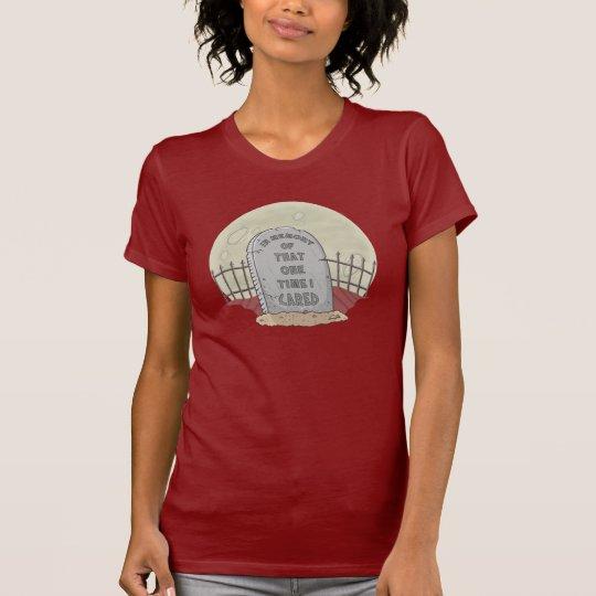 Sarkastischer Spaß-T - Shirt: Ich interessiere T-Shirt