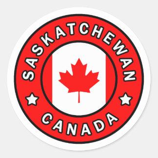Saskatchewan Kanada Runder Aufkleber