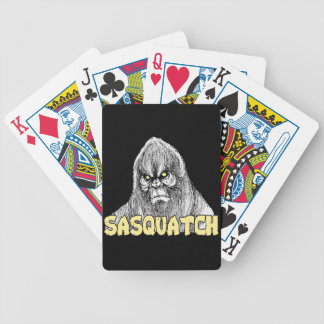Sasquatch Bicycle Spielkarten