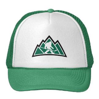 Sasquatch Hockey-Fernlastfahrer-Hut Retrokappen