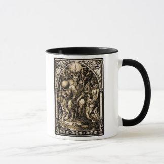 Satan inthronisierte tasse