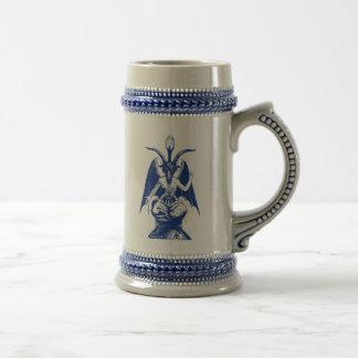 Satanisches Ziegen-Bier Stein Bierglas