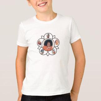 Sathya Sai Kuchen Sarva Dharma Symbo auf T - T-Shirt