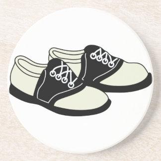 Sattel-Schuhe Sandstein Untersetzer