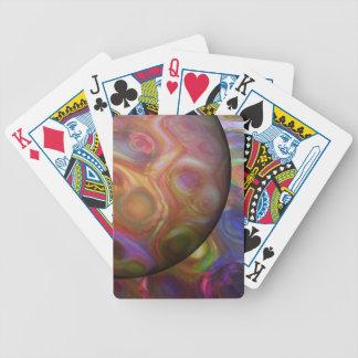 Saturn-Steigen Bicycle Spielkarten