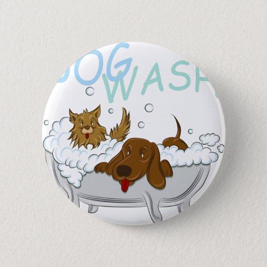 Saubere Hundewäsche Runder Button 5,1 Cm