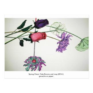 Saubere Postkarte des Frühlinges