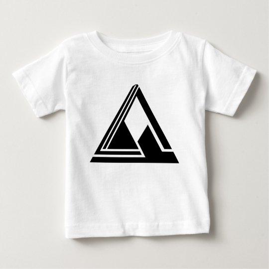 Säubern Sie einfaches Tri Logo N Baby T-shirt