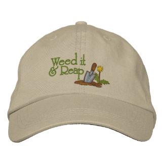 Säubern Sie es Bestickte Mütze