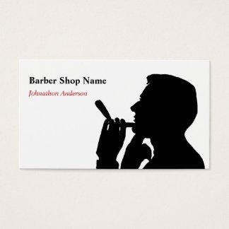 Säubern Sie Rasur-Friseur-Geschäfts-Haar-Stylisten Visitenkarte