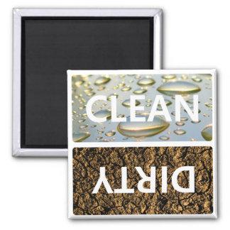 Säubern Sie schmutziges mit kundengerechter Quadratischer Magnet