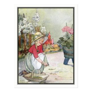 Säubern-Wege durch Anne Anderson Postkarte
