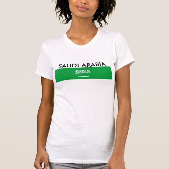 Saudi-Arabien Landesflagge-Nationssymbol T-Shirt
