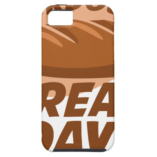 Sauerteig-Brot-Tag iPhone 5 Etui