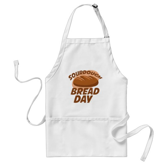 Sauerteig-Brot-Tag Schürze
