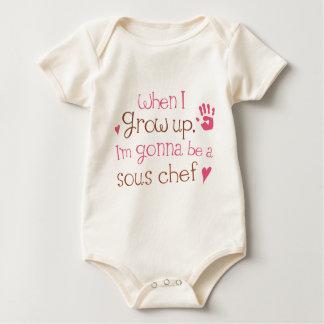 Säuglings-Baby-T - Shirt Sous Kochs-(Zukunft)