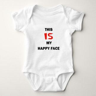 Säuglings-Spielanzug, dieser IST mein glückliches Baby Strampler