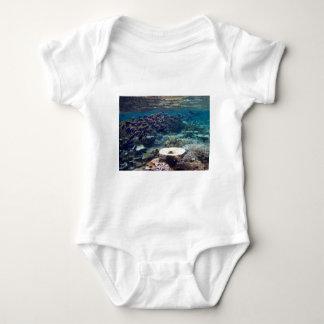 Säuglings-Strampler - Pulver-Blau-Chirurg-Fisch Baby Strampler
