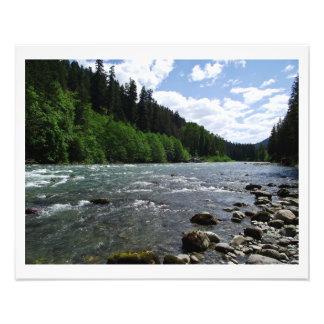 Sauk Fluss Fotografien