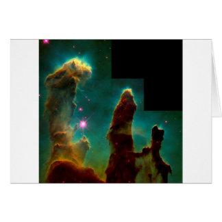 Säulen der Schaffung - Hubble Karte