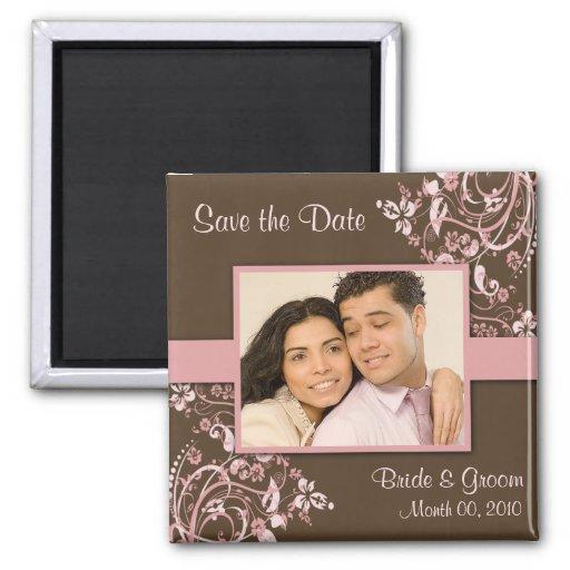 Sauvez le magnet de photo de date aimants pour réfrigérateur