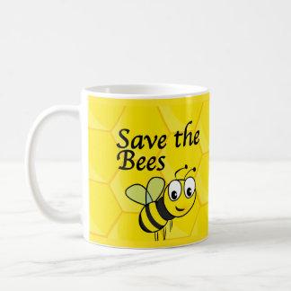 Sauvez les abeilles tasse à café
