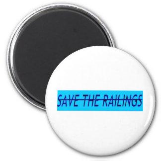 Sauvez les balustrades aimants