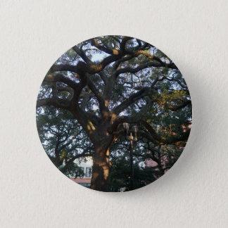Savanne-Eiche Runder Button 5,7 Cm