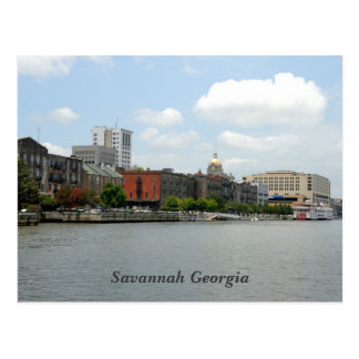 Savanne-Georgia-Postkarte Postkarte