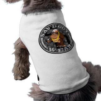Sav'd heraus tragen Haustier-Kleid Shirt