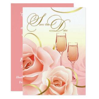 Save the Date 12,7 X 17,8 Cm Einladungskarte