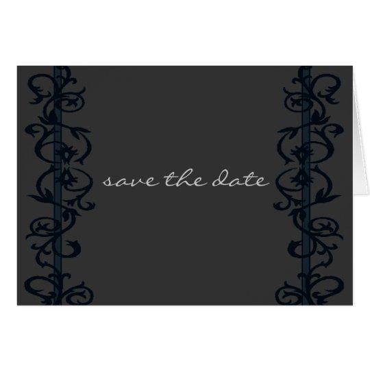 Save the Date einfaches elegantes Grußkarte