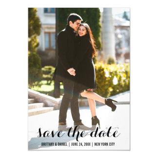 Save the Date Foto-magnetisches Einladungs-12x18 L Magnetische Karte