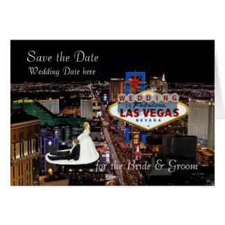 Save the Date für die Braut-u. Bräutigam-Hochzeit Karte