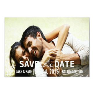 Save the Date/Hochzeit laden   wir ein 8,9 X 12,7 Cm Einladungskarte