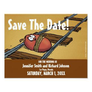 Save the Date lustige Hochzeits-Datums-Einladung Karte