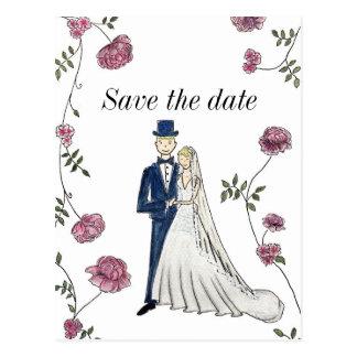 Save the Date Postkarte Postkarte