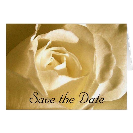 Save the Date SahneRosen-Foto Grußkarte