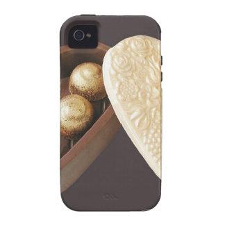 Save the Date Schokoladen-Herzen iPhone 4 Case