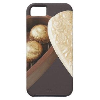 Save the Date Schokoladen-Herzen iPhone 5 Schutzhüllen