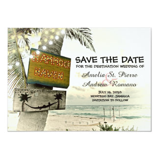 Save the Date Vintager romantischer Karte