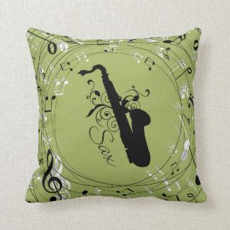 Saxophon-Musik-Instrument-Wurfs-Kissen-Geschenk Kissen