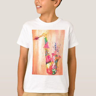 Saxophon-Produkte T-Shirt