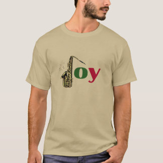 Saxophon-Weihnachtsfreude T-Shirt