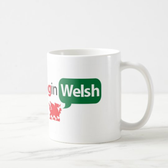 SaySomethinginWelsh Tasse