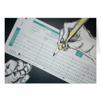 scantron Illustration Mitteilungskarte
