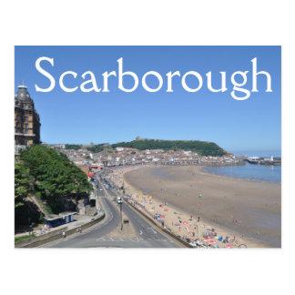 Scarborough eins, neue Postkarte